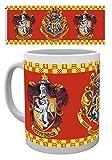 HARRY POTTER 1art1, Grifondoro, Blasone Tazza da caffè Mug (9x8 cm) E 1 Sticker Sorpresa 1art1®