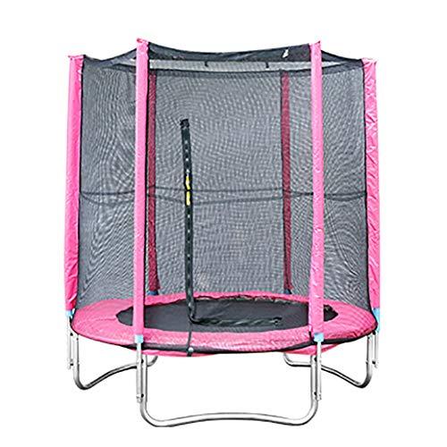 YGUOZ Trampoline voor kinderen, Indoor Outdoor Tuin Trampoline Set met veiligheidsnet behuizing, Springblad, Hoge Sterkte Veren en Cover, Jumper Trampoline