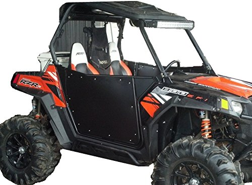 Bear Claw V2 Black Doors for Polaris RZR 2008-2014