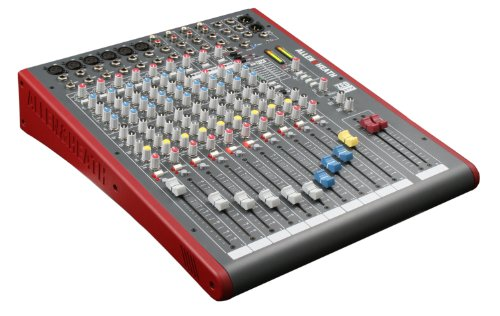 2. Allen & Heath ZED-12FX 12-Channel Mixer with USB Interface and Onboard EFX