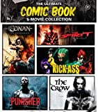 New! 5 Comic Book Movie Blu-ray Set - Crow Kick-Ass Spirit Punisher Conan Momoa