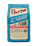 Bob's Red Mill Unbleached White All-Purpose Baking Flour, 5-pound
