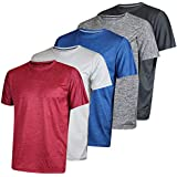 Men's Quick Dry Fit Dri-Fit Short Sleeve Active...