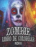 Zombie libro de colorear niños: Scary monsters páginas para colorear para niños o adultos,...