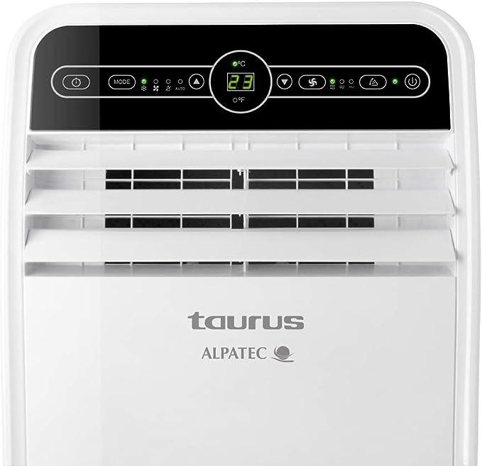 Minuteur Taurus AC 205 RVKT Silencieux T/él/écommande 780W // 720W. kit de fen/être Roue froid Climatiseur 4 en 1: chaud d/éshumidificateur et ventilateu Climatiseur mobile Blanc