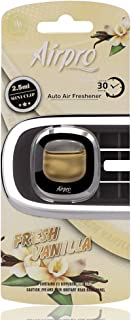 Airpro Mini Vent Clip خوشبو کننده ماشین مجموعه 2 عددی ، تصفیه کننده هوا ، برطرف کننده بو ، ماندگاری طولانی مدت 30 روز (وانیل)