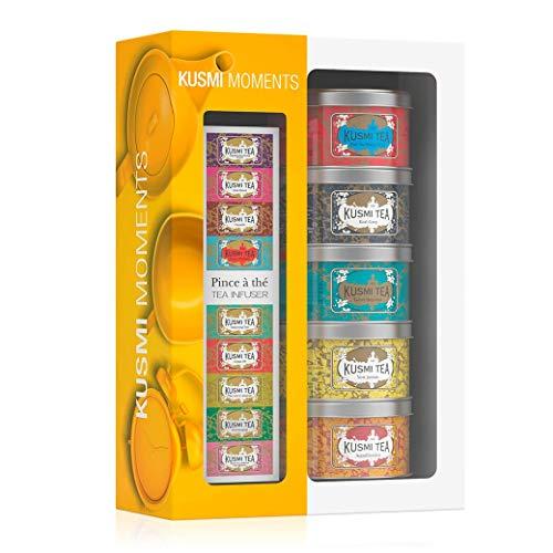 Kusmi Tea - Geschenkset Kusmi Moments und einer Teezange