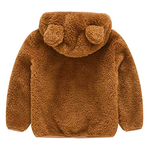 KEERADS Manteau de bébé Filles Manteau Chaud d'hiver Veste Chaud épais Vêtements,Enfant Fille Garçons Hiver Manteau Parka Blousons avec Capuche
