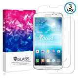 Ycloud [3 Pack] Protector de Pantalla para Samsung Galaxy Mega GT-i9205 (6.3 Pulgada),[9H Dureza/0.3mm],[Alta Definicion] Cristal Vidrio Templado Protector para Samsung Galaxy Mega GT-i9205