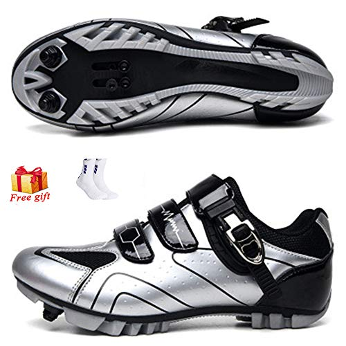 ZFY Unisex Cycling Shoes Men Sport Shoes Summer Outdoor Breathable Bicycle Shoes MTB Racing Sneakers Cycling Sneaker,D-40