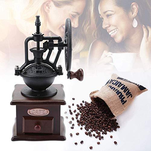 Młynek do kawy, młynek do kawy Przenośny ręczny młynek do kawy Ręczny młynek do kawy Młynek ręczny Pepper Spice Domowa młynek do kawy, retro Ręczny młynek do kawy Młynek do pieprzu