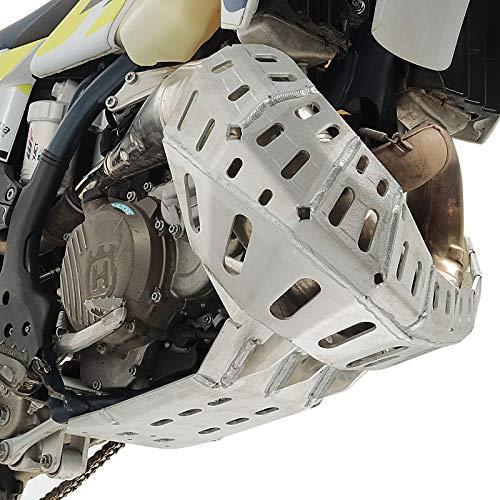 Motorschutz für KTM EXC 300 250 TPI 20- Aluminium Auspuff Krümmerschutz