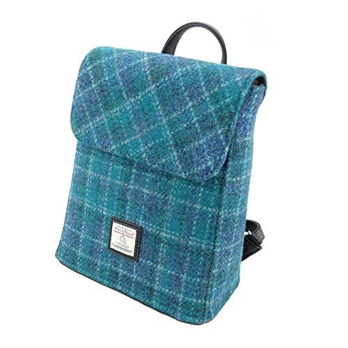 Authentisch Harris Tweed Damen Mini Rucksack Tummel LB1213 - Farbe 92, 26cm H x 21cm W x 12cm D