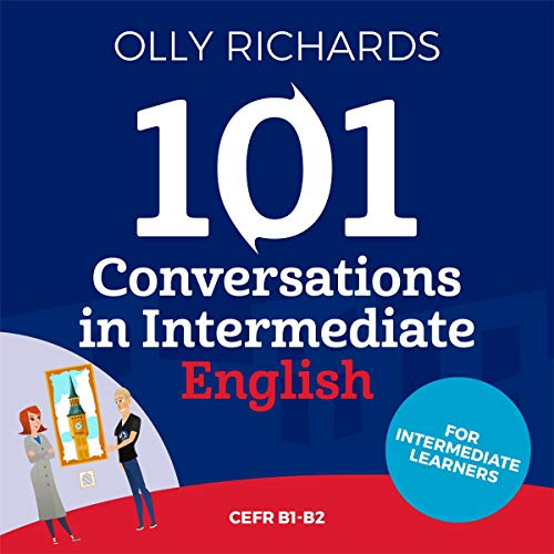 『101 Conversations in Intermediate English』のカバーアート