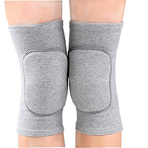 JUMISEE Kids Knee Pad, Anti-Slip Padded Sponge Knee Brace Breathable Flexible Elastic Knee Support for Football Volleyball Dance Skating Basketball Sports