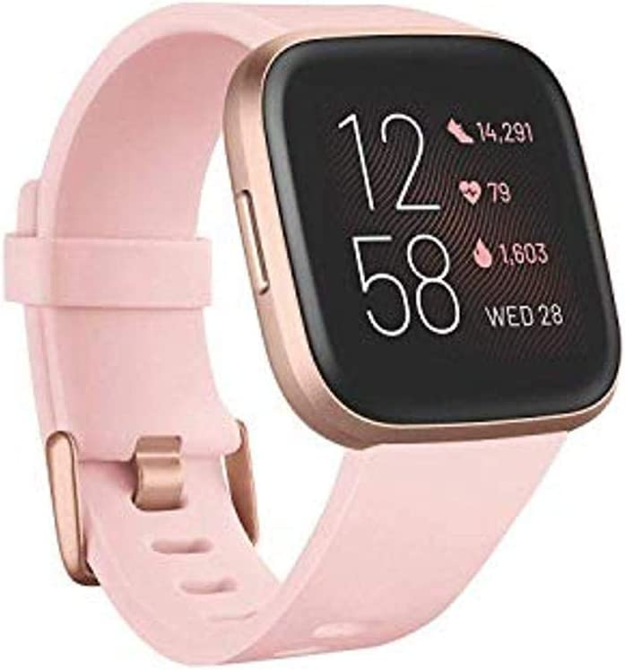 Fitbit Health and Fitness Smartwatch - Unique Gift Ideas For 17 Year Old Female Teenage Girl
