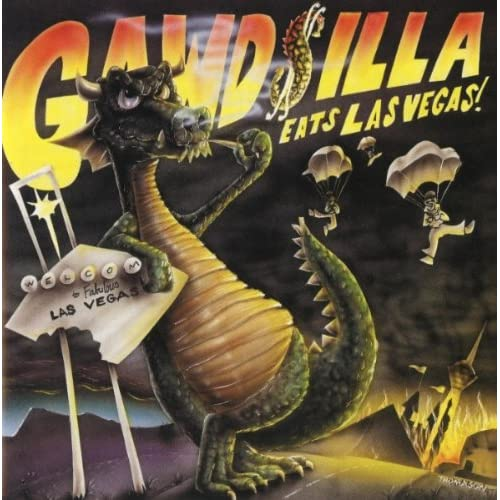 Image result for godzilla eats las vegas