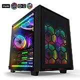 anidees AI-Crystal-Cube-RGB Cubo Case per PC ATX Torre Mid compatibile con E-ATX, 280/240 pc - Nero...