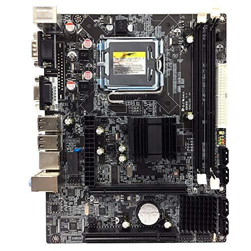 CUHAWUDBA G41 Lga775 Placa Madre de Escritorio para Intel Chipset Ddr3 Doble USB 2.0 Lga 775 Mainboard para Pc de la Computadora