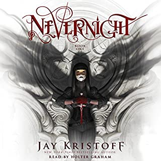 Nevernight     The Nevernight Chronicle, Book 1              By:                                                                                                                                 Jay Kristoff                               Narrated by:                                                                                                                                 Holter Graham                      Length: 20 hrs and 10 mins     2,272 ratings     Overall 4.5