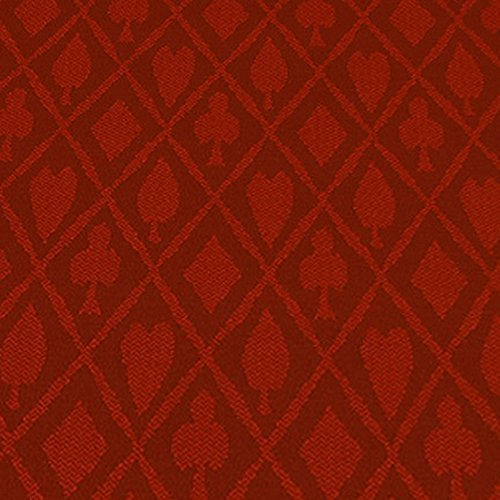 Brybelly 10-Feet Red Polyester Suited Speed Cloth