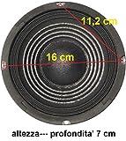 ALTOPARLANTE WOOFER 100w - sospensione rigida - 165MM 8 Ohm 16,5 cm 6,5' RICAMBIO CASSE ACUSTICHE PASSIVE O AMPLIFICATE | MEDIO BASSO