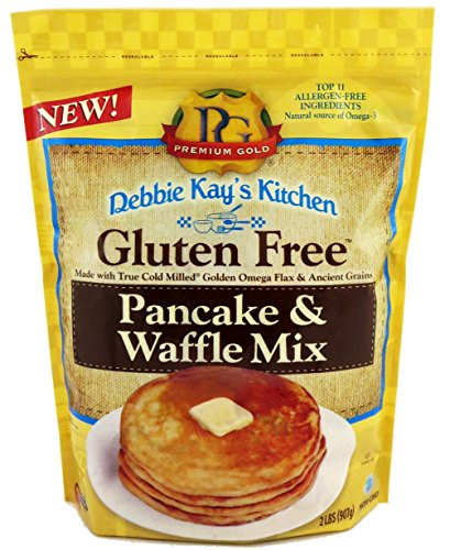 Premium Gold Gluten Free Pancake and Waffle Mix | 2lb