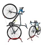 GORIX(ゴリックス) 自転車 スタンド [縦置き 横置き両用] ロードバイク クロスバイク 室内 ディスプレイスタンド SJ-518 (レッド)