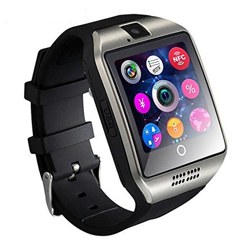 El Smart Watch Sim se Puede Insertar en la Tarjeta AliExpress Amazon Explosion Models Bluetooth iOS Android (Color : B)