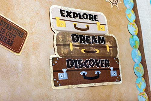 Teacher Created Resources Travel The Map Future World Changers Bulletin Board (TCR8623) Photo #6