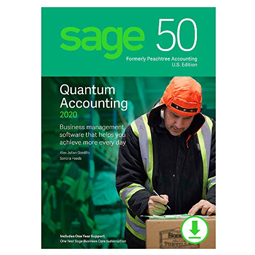 Sage 50 Quantum Accounting 2020 U.S. 1-User [PC Download]