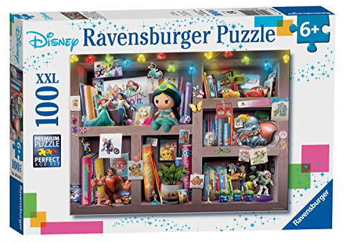 Ravensburger 10410 Disney Multicharacter 100 Jigsaw Puzzle with Extra Large Pieces for Kids Age 6 Years and up, Multicoloured