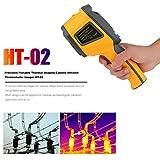 H.L Termocamera termometro a infrarossi termostato Digitale Colore Imaging Camera Temperatura Meter Dati Tenere IR Laser Temperatur Gun