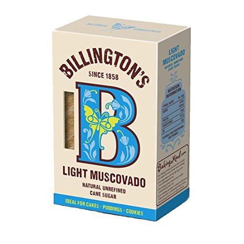 Billingtons | Sugar - Light Muscovado | 2 x 500g