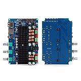 Aoca Módulo Amplificador de Potencia, Placa amplificadora de Potencia, 2,1 Canales para impedancia de Altavoz Son Accesorios de Audio y vídeo de 4/6/8 ohmios