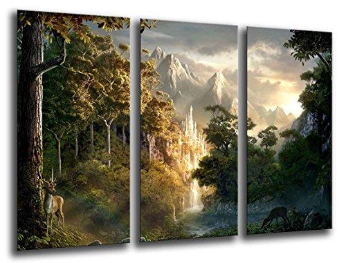 Tableau photo EL Seigneur des Anneaux Dimensions totales : 97 x 62 cm XXL