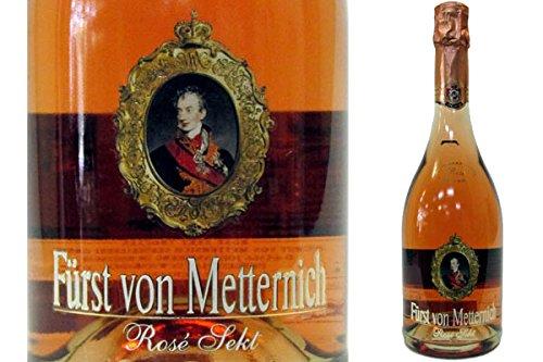 1 Flasche Fürst von Metternich - Rosé Sekt 12,5% - 0,75l