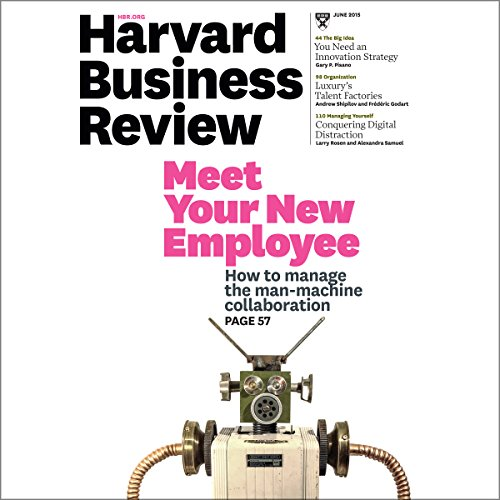 Harvard Business Review, June 2015 copertina