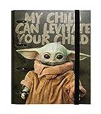 Grupo Erik - Carpeta 4 anillas troquelada Baby Yoda - The Ma