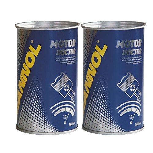 MANNOL 2 x 350ml 9990 Motor Doctor/Motoroeladditiv Beschichtung Motorschutz Zusazt