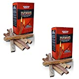 Better Wood Products Fatwood Firestarter Box, 2-Pounds, 2 Pack