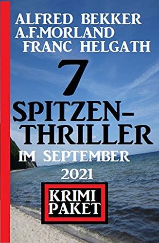 7 Spitzen-Thriller im September 2021: Krimi Paket