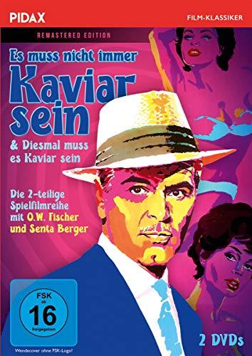 Es muss nicht immer Kaviar sein + Diesmal muss es Kaviar sein - Remastered Edition / Die komplette 2-teilige Spielfilmreihe (Pidax Film-Klassiker) [2 DVDs]