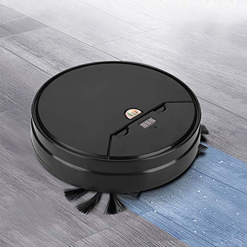 Fantastic Deal! Oyunngs Robot Vacuum Cleaner, Multi-Functional Smart Ultra-Thin Sweeping Floor Mop C...