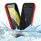 Mijobs [4.7' Funda Impermeable para iPhone SE 2020 Funda 360,Funda Impermeable para iPhone 8/7/SE2 Funda Protectora de Cuerpo Completo Fundas IP68 Funda iPhone SE 2020/8/7