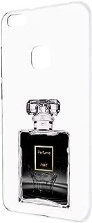 HUAWEI P10 lite WAS-LX2J ケース ハードケース 【透明ケース:ノワール】 香水 ファーウェイ スマホケース 携帯カバー [FFANY] perfume-h190751
