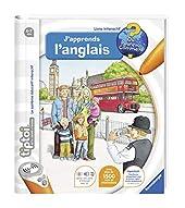 Ravensburger - Livre d'aventure interactif tiptoi - J'apprends l'anglais - Jeux électroniques éducatifs sans écran et en français - A partir de 4 ans - 00606