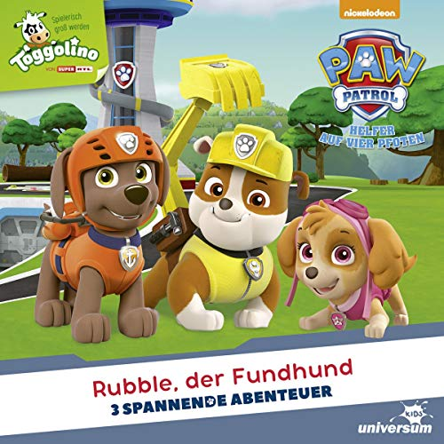 Rubble, der Fundhund: Paw Patrol 20-22
