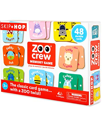Skip Hop Zoo Crew Memory & Matching Game