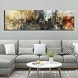 KWzEQ Impresión en HD Pintura al óleo Abstracta impresión Lienzo Carteles Decorativos e Impresiones decoración de la Sala de Estar en el hogar,Pintura sin Marco,30x90cm